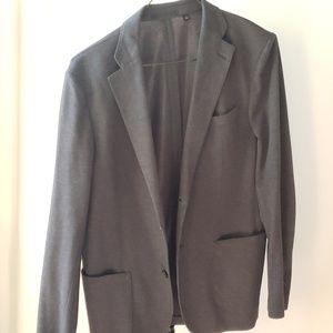 Charcoal gray LIGHT sportscoat